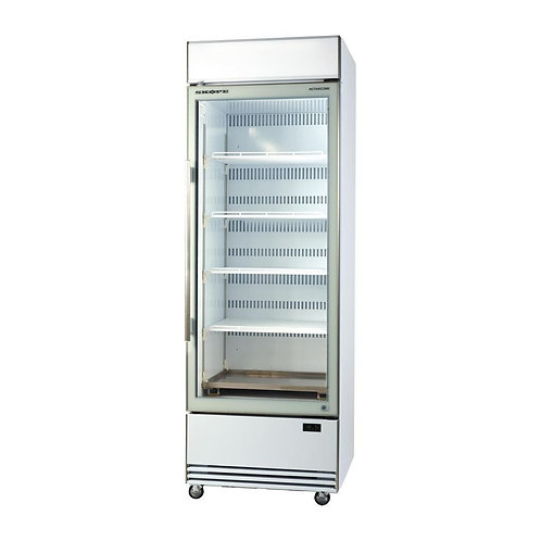 BME ActiveCore 1 Door Ultra High Efficient Vertical Glass Door Chiller (Dir