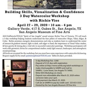 SAMFA Watercolor Workshop