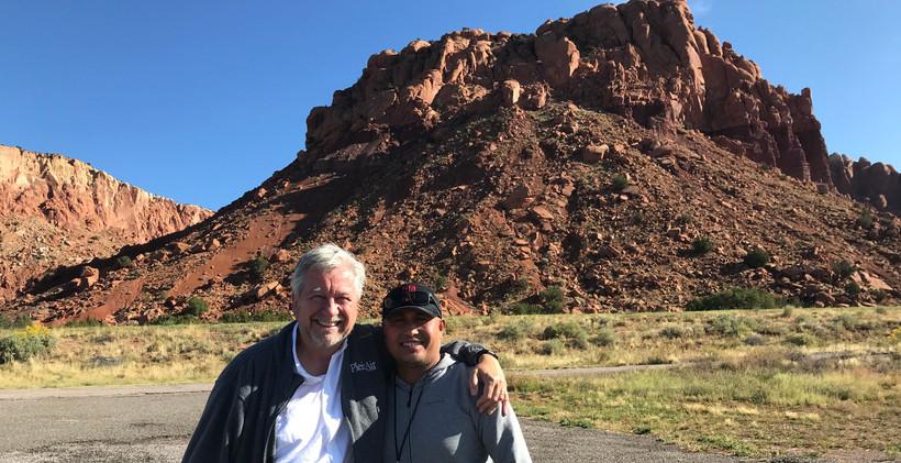 with Eric Rhoads, Fall week organizer