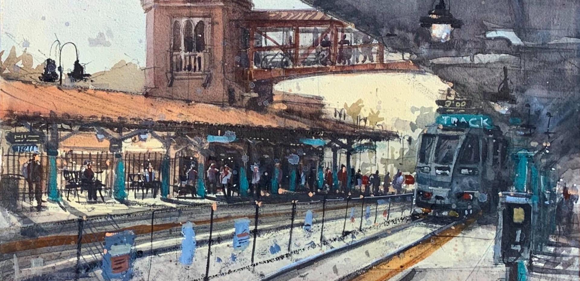 West Palm South Train Depot