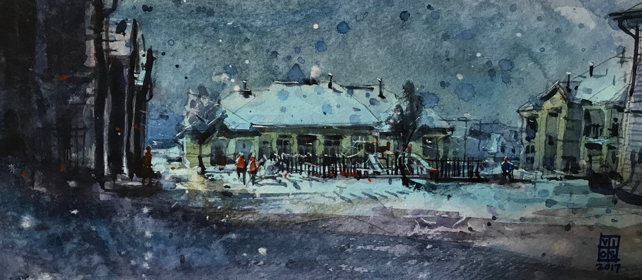 2017 Snow Texas