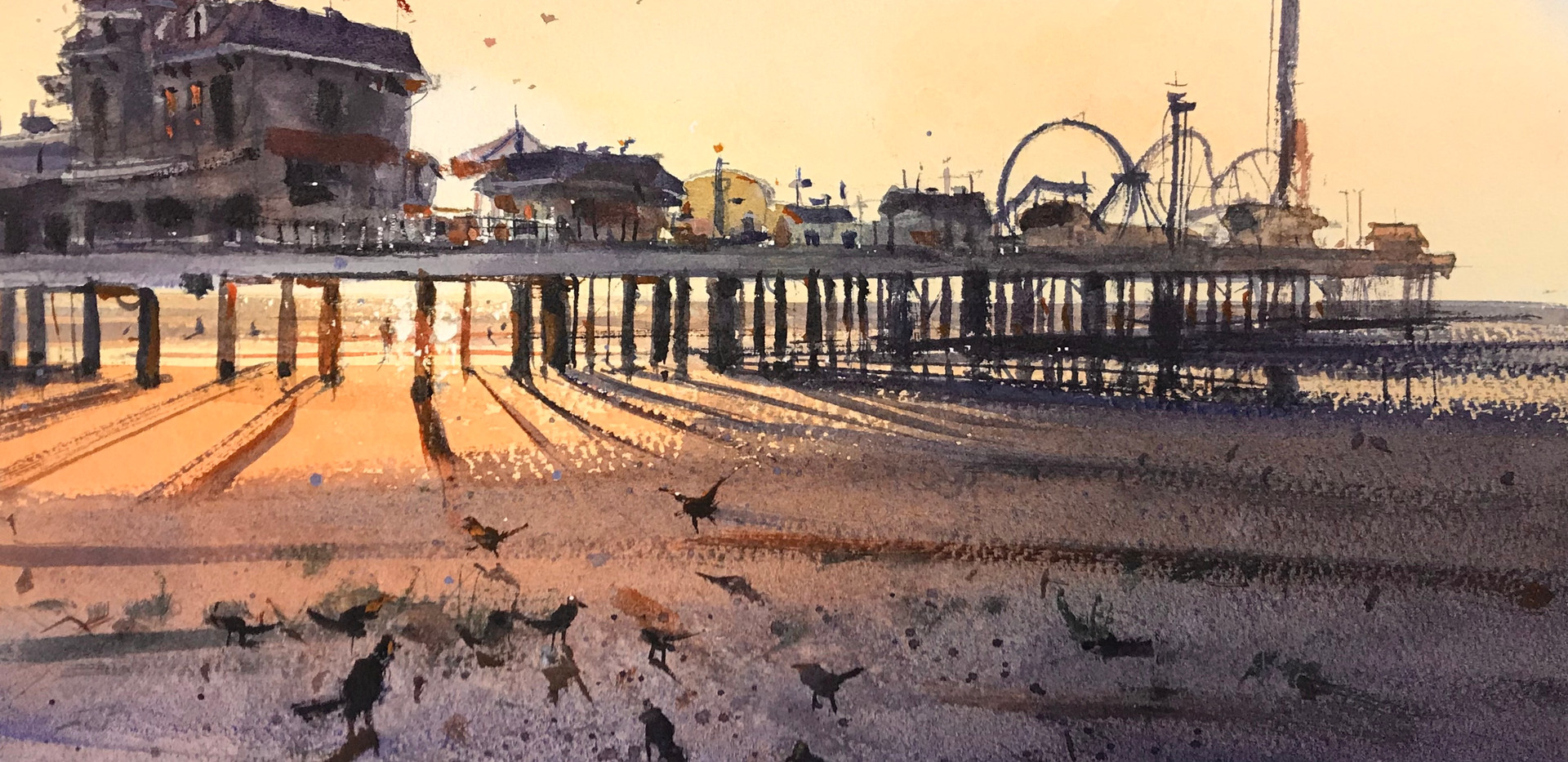 Morning Sun (Pleasure Pier)