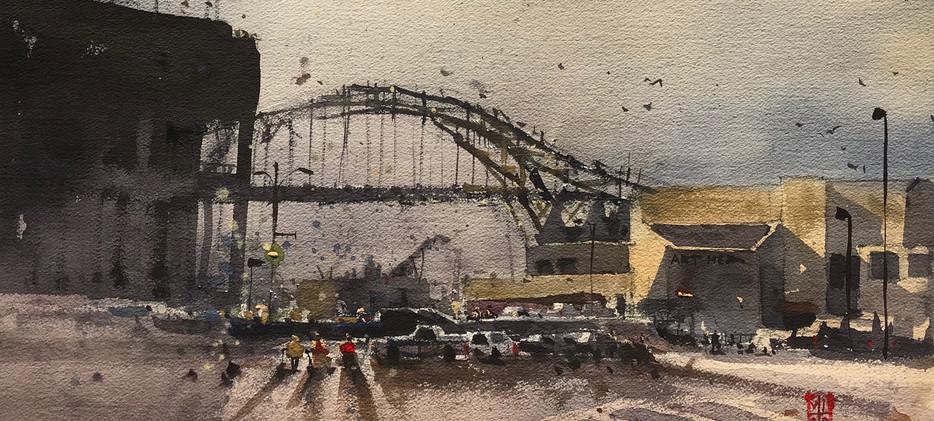 Old Harbor Bridge
