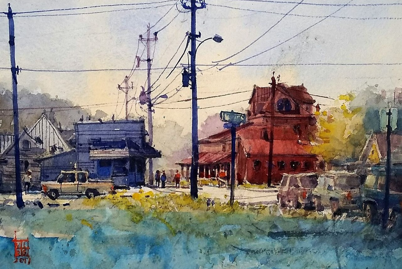 Red Barn (Victoria Art League)