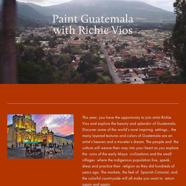 Guatemala Workshop
