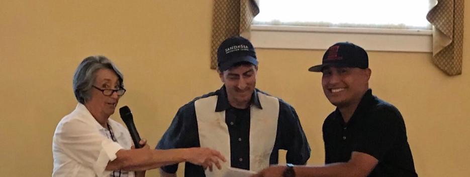 Outdoor Painters Society Pleinair award: Judge Dave Santillanes