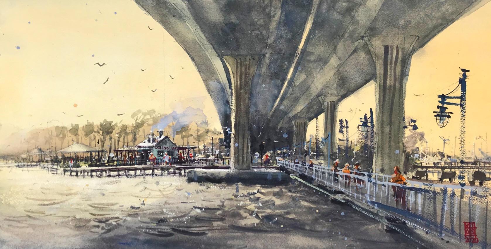 Under the Bridge in Stuart