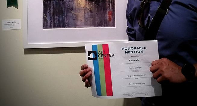 Honorable Mentioned award