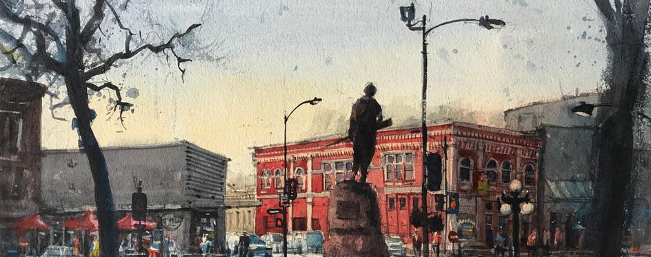 Navarro Statue