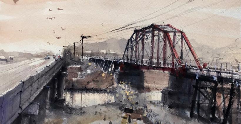 Coleto Creek 2 Bridges.JPG
