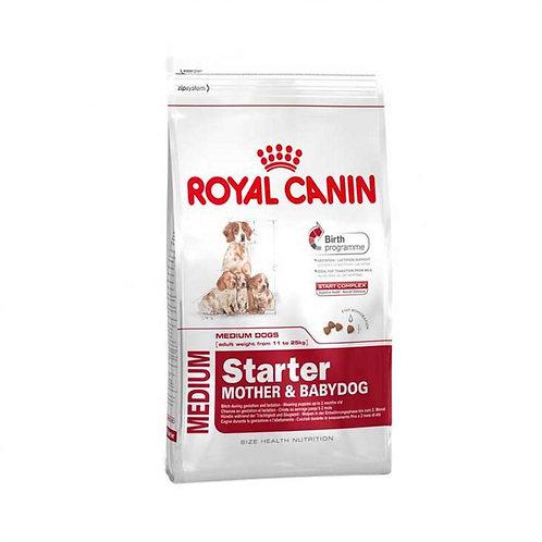Royal Canin для щенков средних пород, беременных и кормящих 4кг.