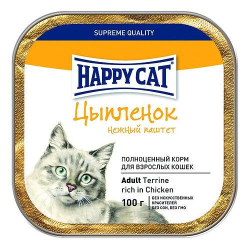 Happy Cat корм для кошек ламистер 100 гр.