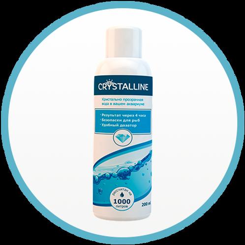 Кристальная вода в аквариуме Crystalline 200 мл.