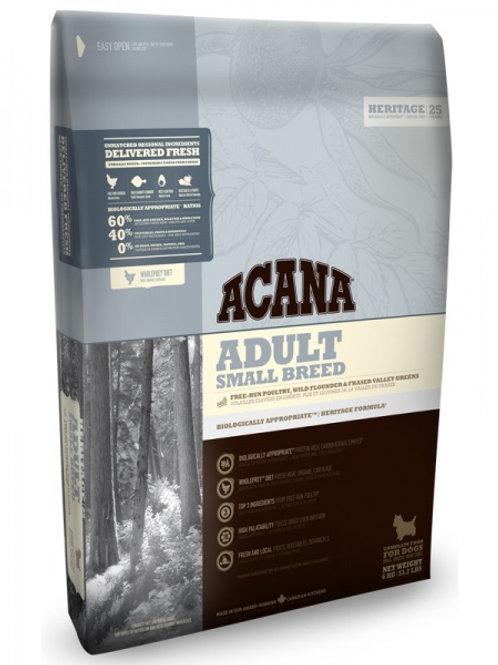 Acana корм для собак мелких пород цыпленок, камбала 2 кг.