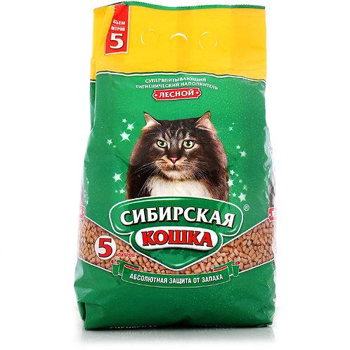 Сибирская кошкалесной наполнитель 5л.