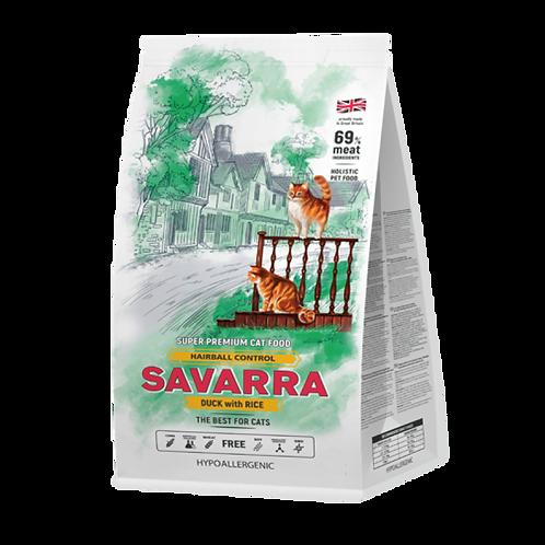 Savarra HAIRBALL CONTROL корм для кошек утка 400 гр.