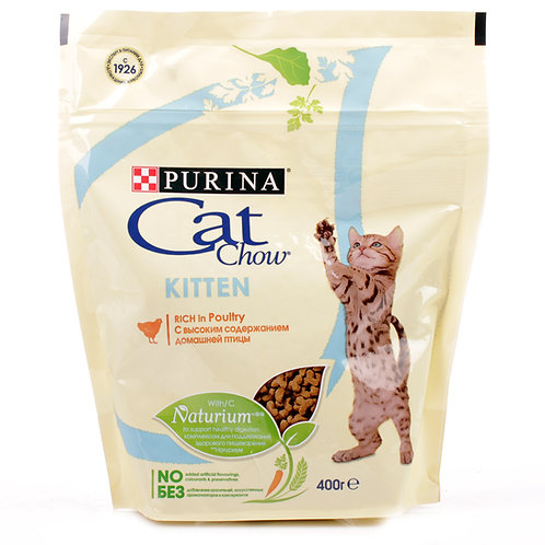 Cat Chow Kitten (Кэт Чау) корм для котят 400 гр.