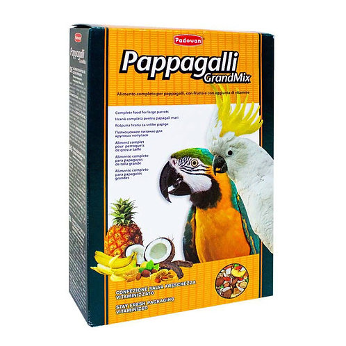 Padovan (Падован) корм для крупных попугаев 600 гр.