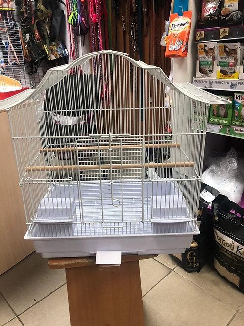 Большая клетка для попугаев 42*30*50 см.