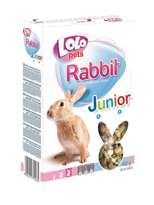 Lolo Pets JUNIOR корм для молодых кроликов 400 гр.