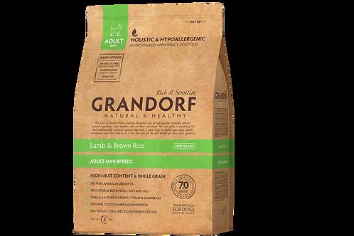 Грандорф (GRANDORF) корм для собак мелких пород ягнёнок 1 кг.