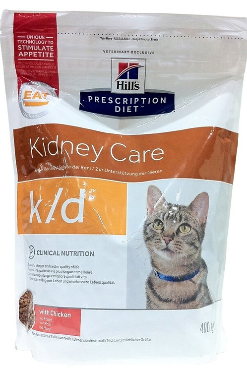 Hill's k/d корм для кошек с Курицей 400 гр.