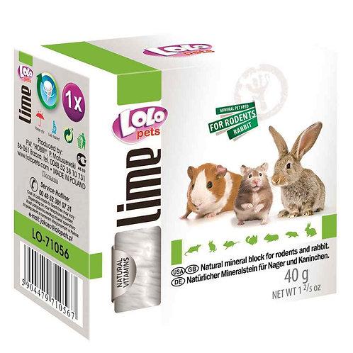 LoLo pets lime Минеральный камень для грызунов 40 гр.