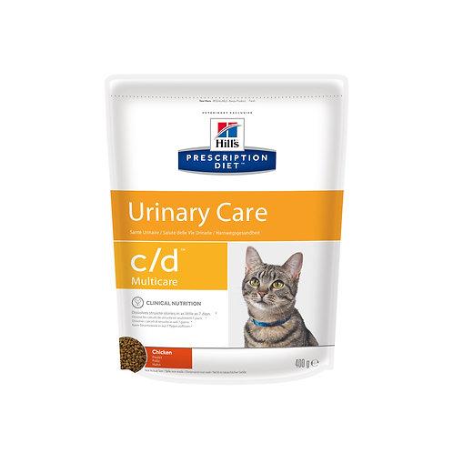 Hills CD Urinary корм для кошек с курицей 400 гр.