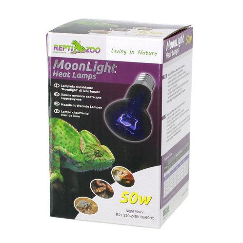 ReptiZoo Moonlight Heat Lamp, лампа ночного света для рептилий 50 Вт.