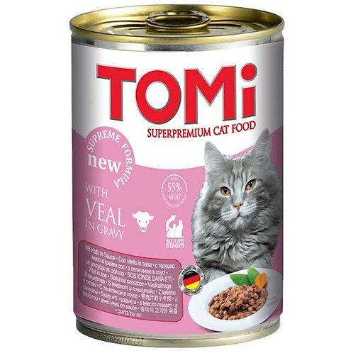 Tomi корм для кошек консервированный 400 гр.