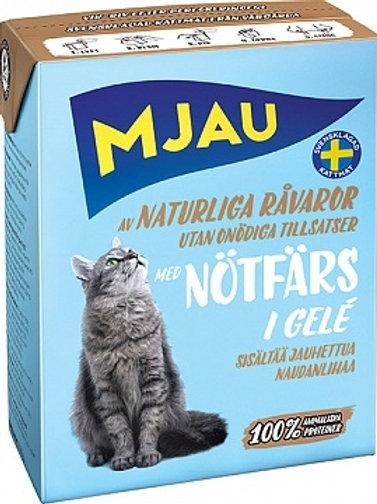 MJAU (Мяу) влажный корм для кошек 380 гр.