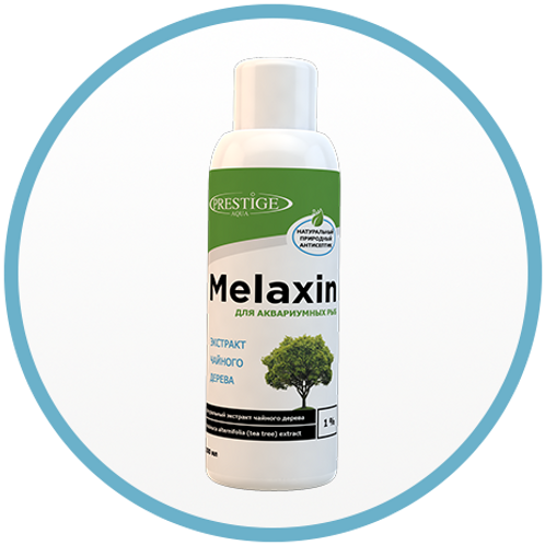 Природный антисептик для рыб Melaxin 250 мл.