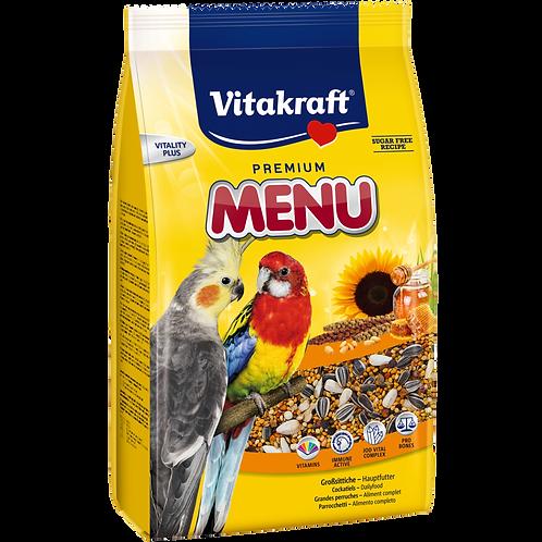 Vitakraft (Витакрафт) корм для крупных попугаев 1 кг.