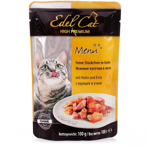 Edel Cat корм для кошек пауч 100 гр.