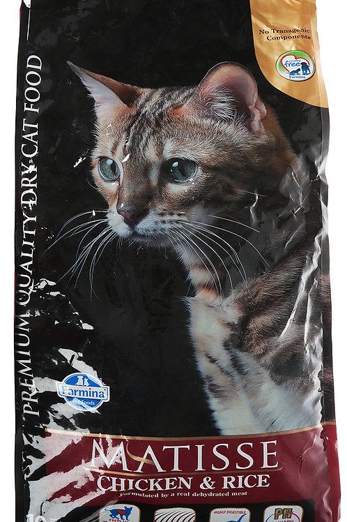 Фармина Матиз корм для кошек курица 10 кг.