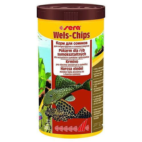 Sera Wels-chips для сомиков 110гр./250мг.