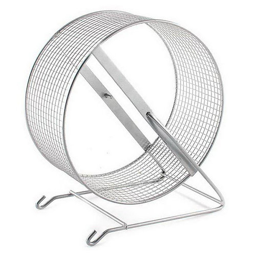 "Колесо для грызунов металл ""Дарэлл"" диаметр 300 мм."