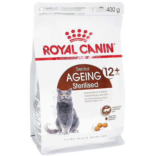 Royal Canin корм для стерилизованных кошек старше 12 лет 400 гр.