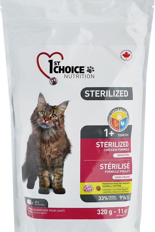 1st Choice sterilized (Фест Чойс) корм для стерилизованных кошек 320 гр.