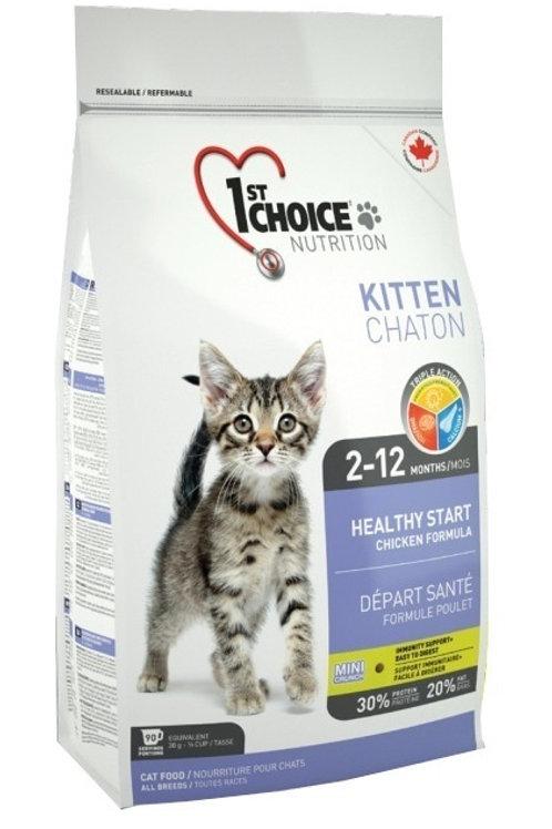 1st Choice (Фест Чойс) корм для котят с цыпленком 350 гр.