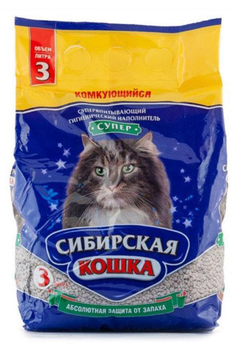 Сибирская кошка Супер 3л.