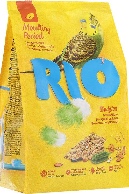 RIO (Рио - Период линьки) корм для волнистых попугаев 500 гр.