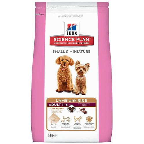 Hill's корм для взрослых собак Small & Miniature Ягненок с Рисом 300 гр.