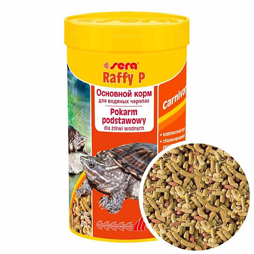 Sera Raffy P корм для черепах 250 мл.