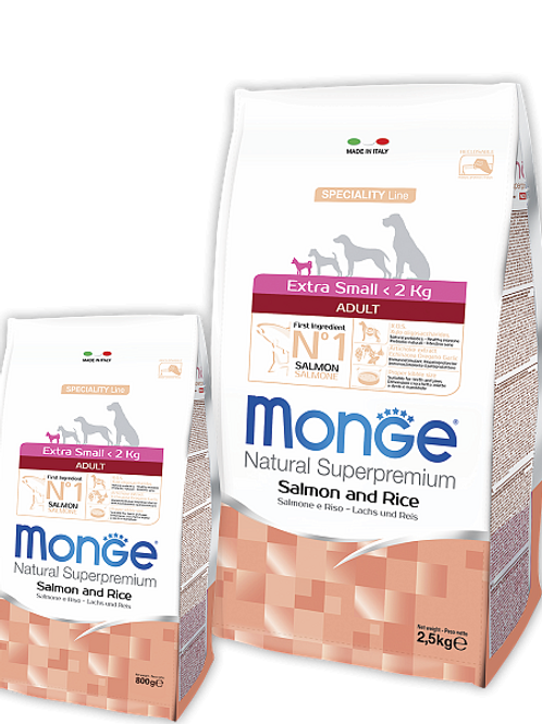 MONGE корм для собак карликовых пород 800 гр.