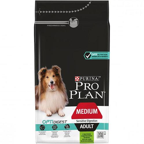 Про План корм для собак средних пород, ягненок 3 кг.