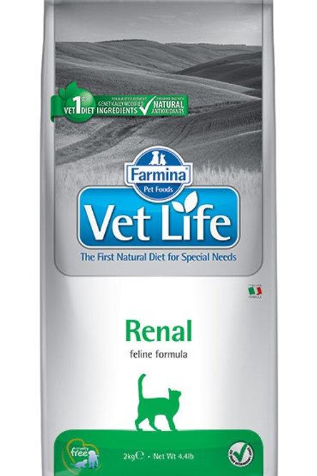 Farmina Vet Life Renal при почечной недостаточности 0,4 кг.