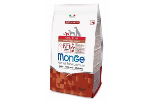 MONGE корм для щенков мелких пород ягненок 800 гр.