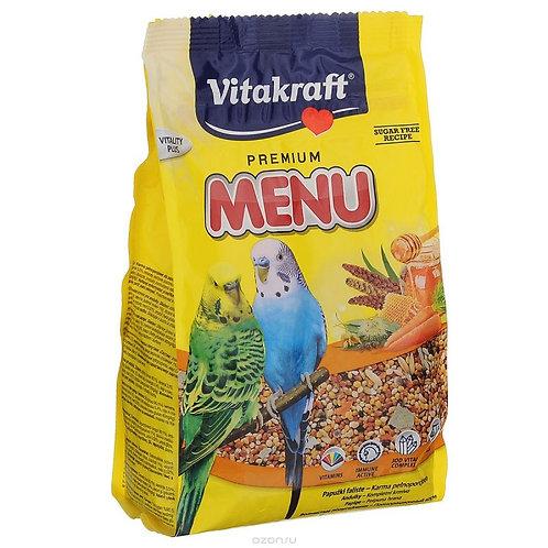 Vitakraft Premium Menu (Витакрафт) корм для попугаев 500 гр.