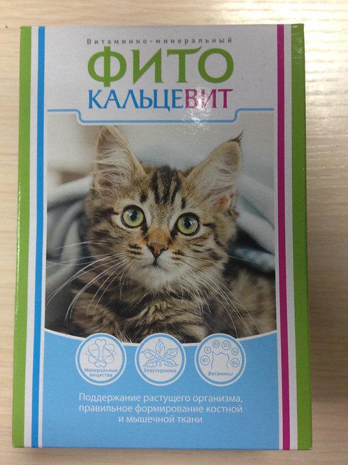 Фито Кальцевит для кошек 250 гр.